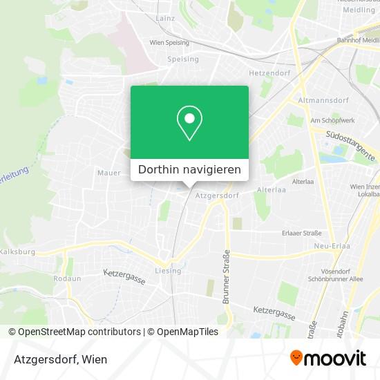 Atzgersdorf Karte