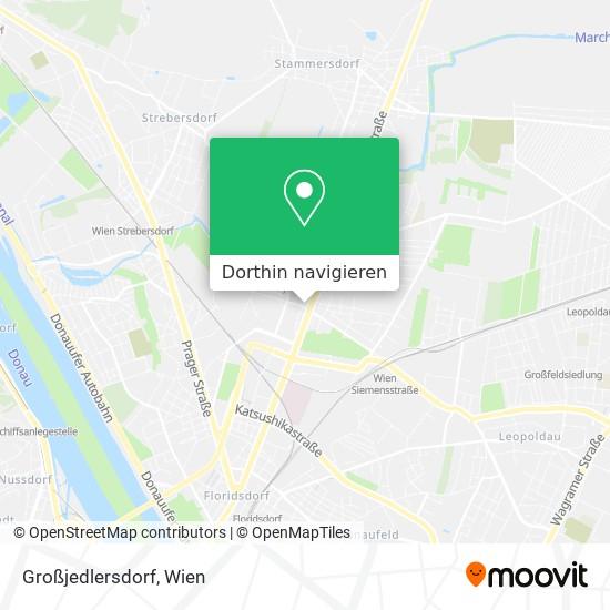Großjedlersdorf Karte