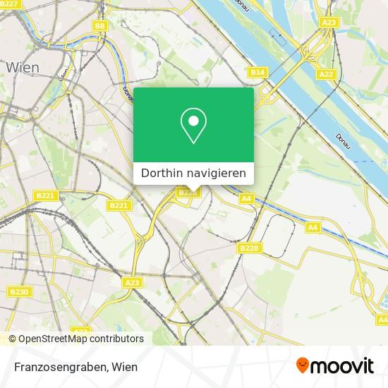 Franzosengraben Karte