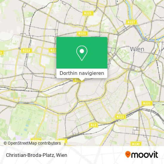 Christian-Broda-Platz Karte