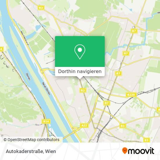 Autokaderstraße Karte