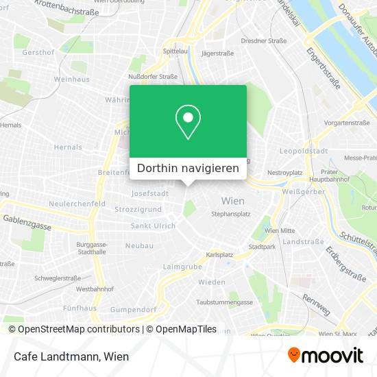 Cafe Landtmann Karte