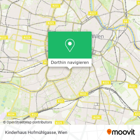 Kinderhaus Hofmühlgasse Karte