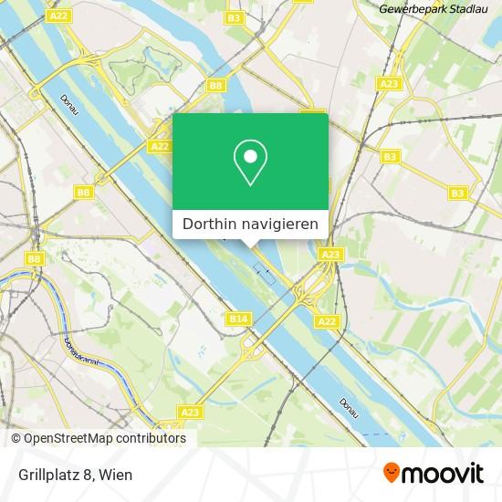 Grillplatz 8 Karte