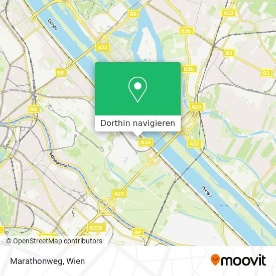 Marathonweg Karte