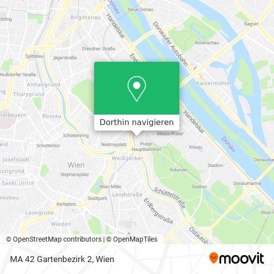 MA 42 Gartenbezirk 2 Karte