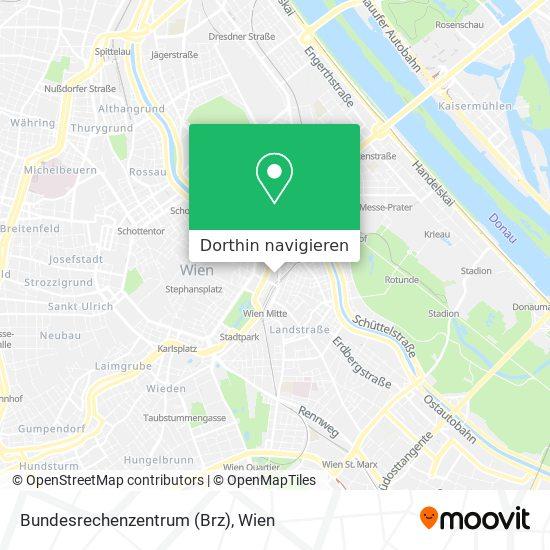 Bundesrechenzentrum (Brz) Karte