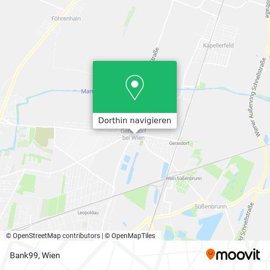 2201 Gerasdorf Karte