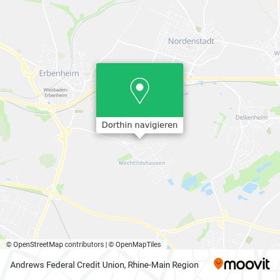 Wie komme ich zu Andrews Federal Credit Union in Wiesbaden mit dem