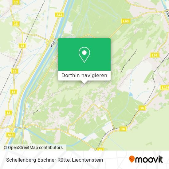 Schellenberg Eschner Rütte Karte
