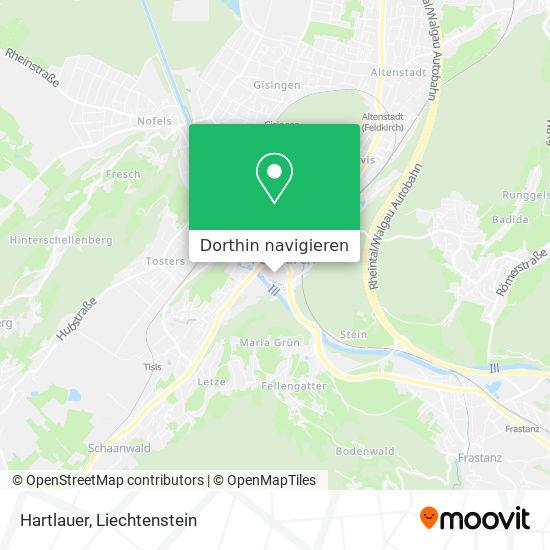 Hartlauer Karte