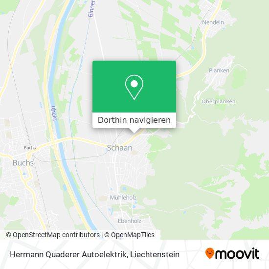 Hermann Quaderer Autoelektrik Karte