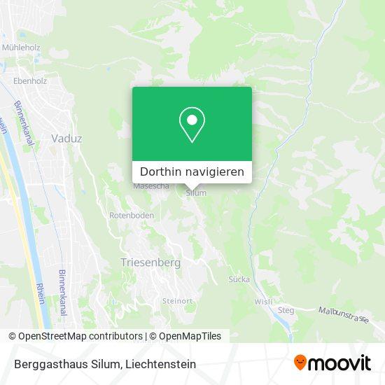 Berggasthaus Silum Karte