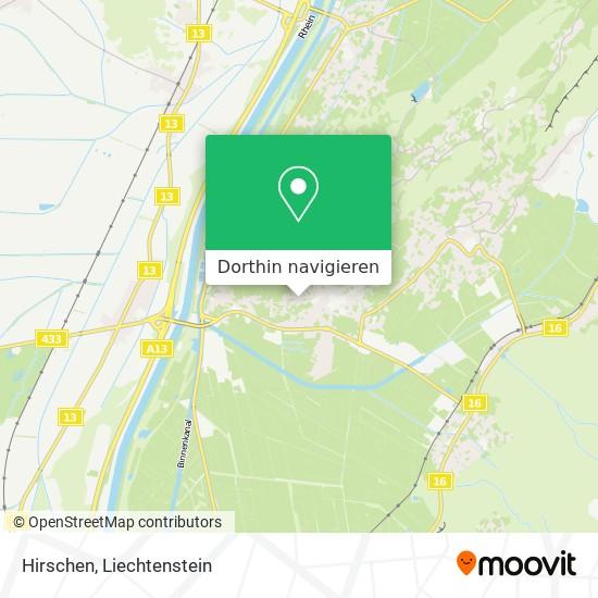 Hirschen Karte