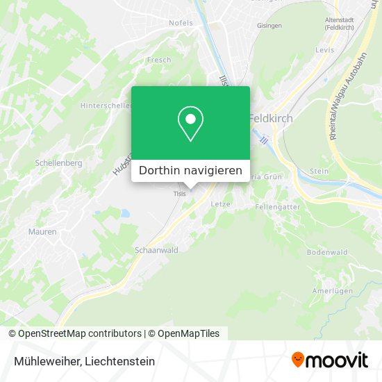 Mühleweiher Karte
