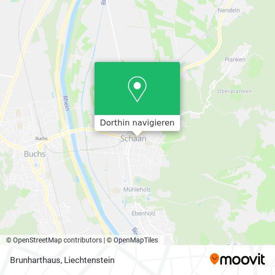 Brunharthaus Karte