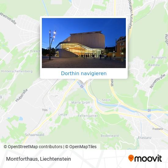 Montforthaus Karte