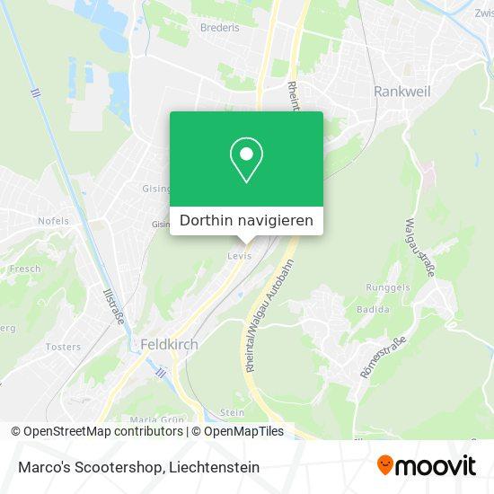 Marco's Scootershop Karte