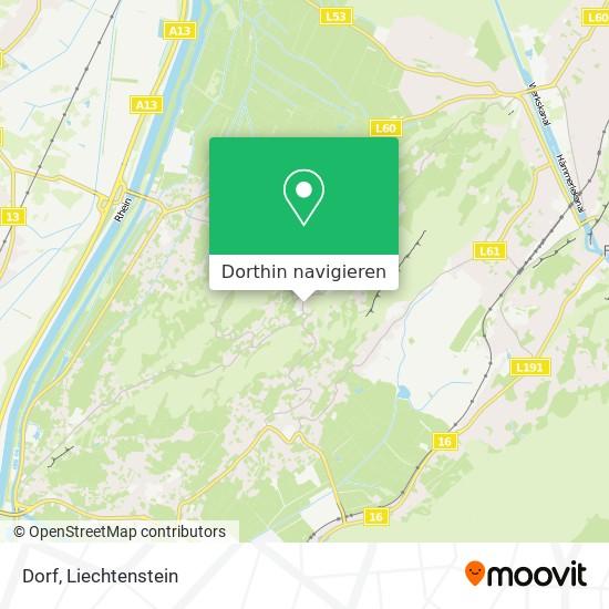 Dorf Karte
