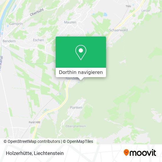 Holzerhütte Karte