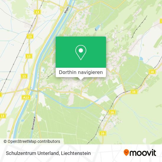 Schulzentrum Unterland Karte