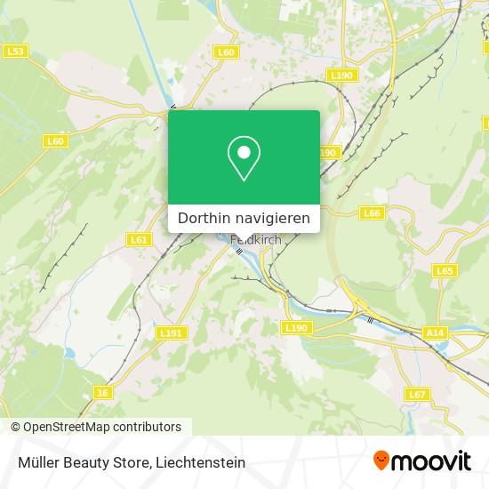Müller Beauty Store Karte