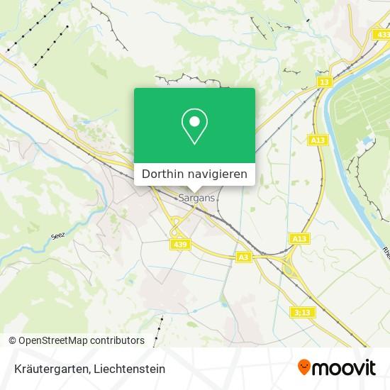 Kräutergarten Karte