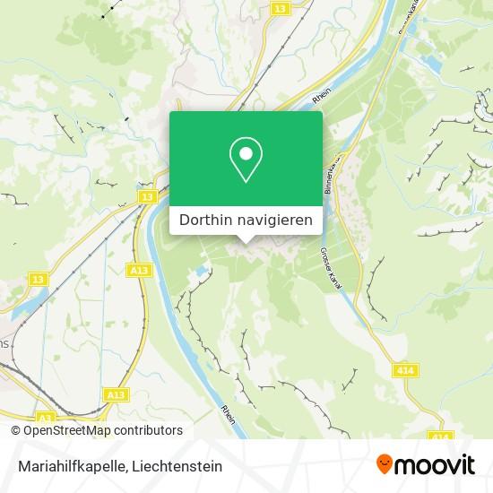 Mariahilfkapelle Karte