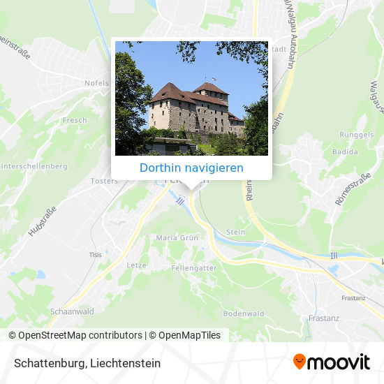 Schattenburg Karte