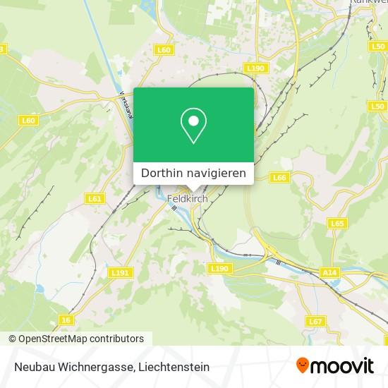 Neubau Wichnergasse Karte