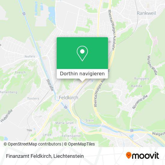 Finanzamt Feldkirch Karte