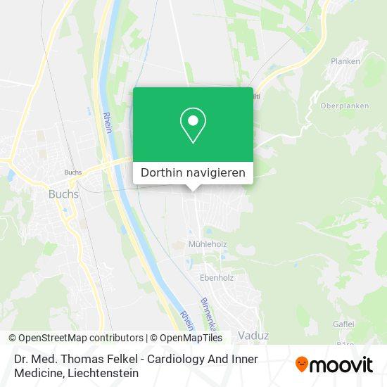 Dr. Med. Thomas Felkel - Cardiology And Inner Medicine Karte