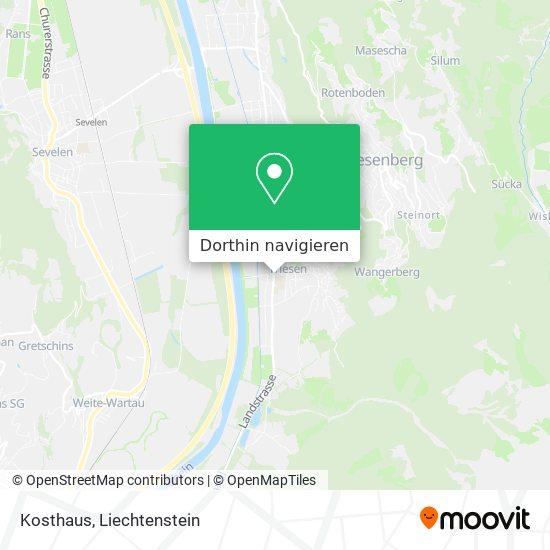 Kosthaus Karte