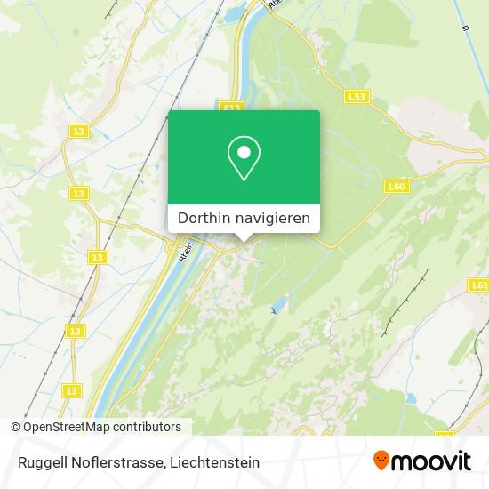Ruggell Noflerstrasse Karte