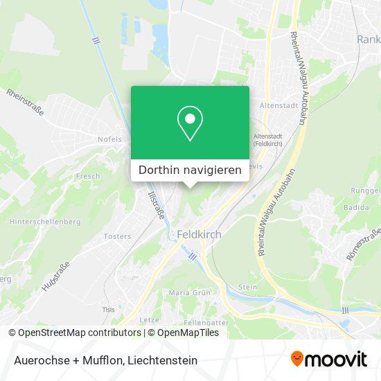 Rothirsch Karte