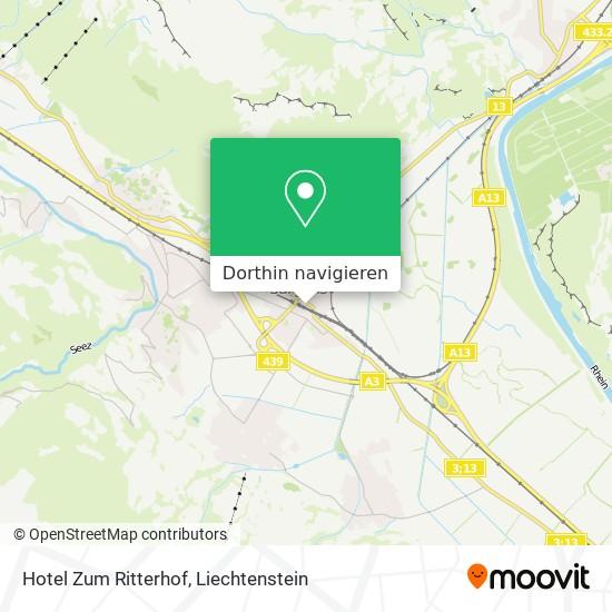 Hotel Zum Ritterhof Karte