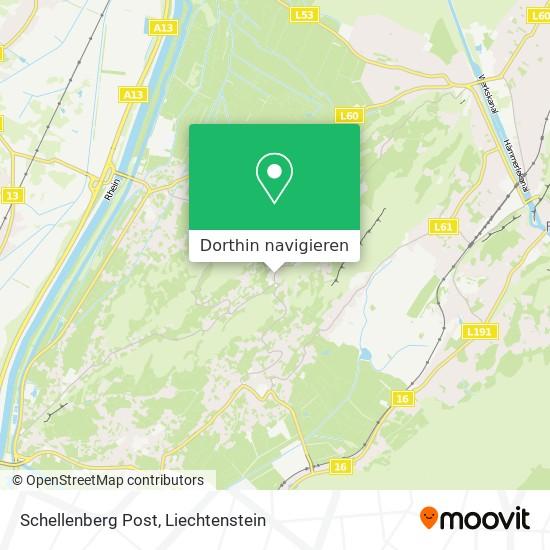 Schellenberg Post Karte