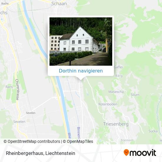 Rheinbergerhaus Karte