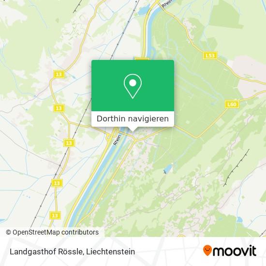 Landgasthof Rössle Karte