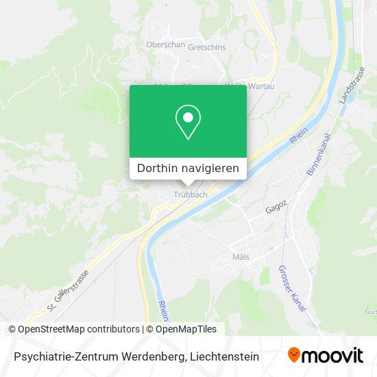 Psychiatrie-Zentrum Werdenberg Karte