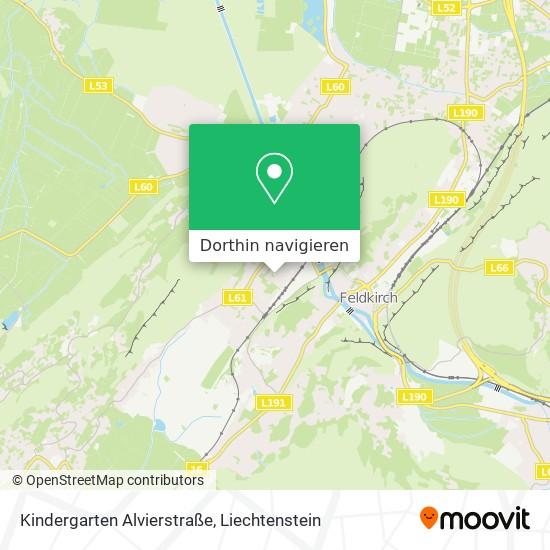 Kindergarten Alvierstraße Karte