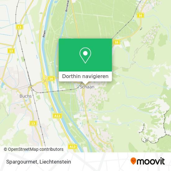 Spargourmet Karte