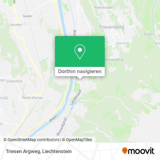 Argweg Karte