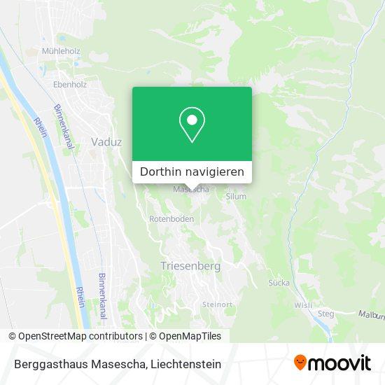 Berggasthaus Masescha Karte