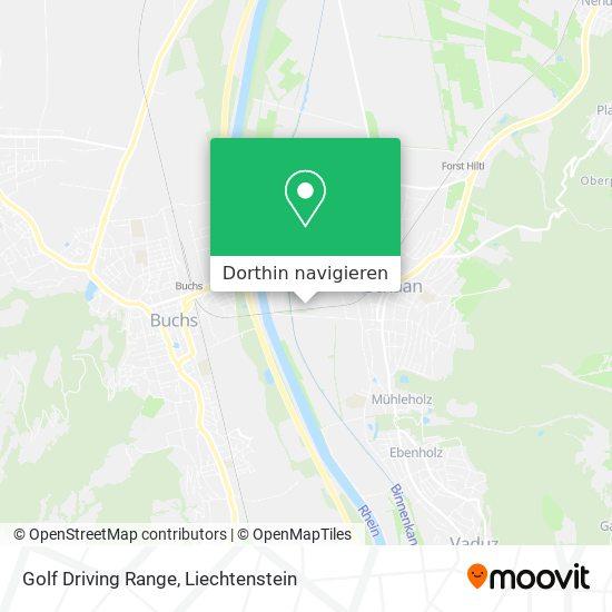 Golf Driving Range Karte