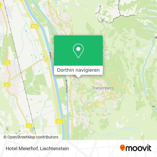 Hotel Meierhof Karte