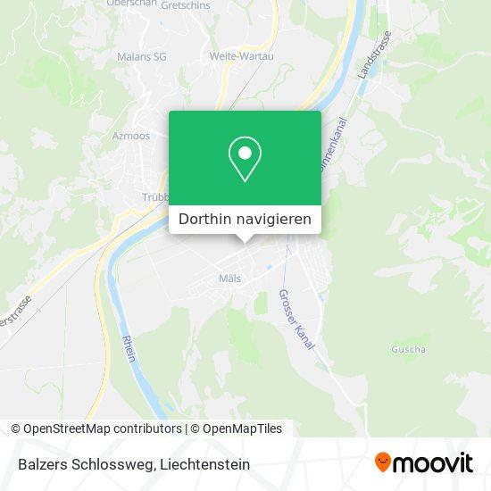 Schlossweg Karte
