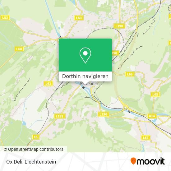 Ox Deli Karte