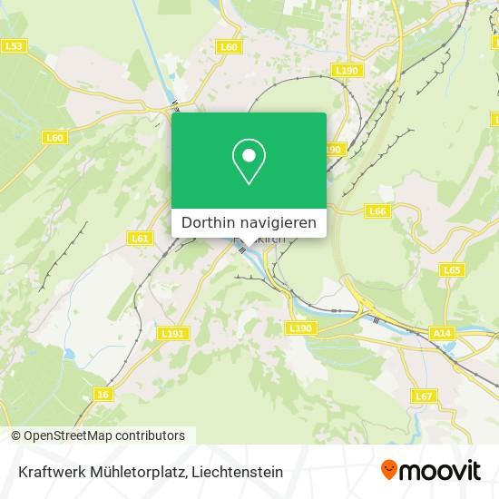 Kraftwerk Mühletorplatz Karte