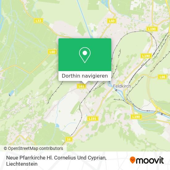 Neue Pfarrkirche Hl. Cornelius Und Cyprian Karte